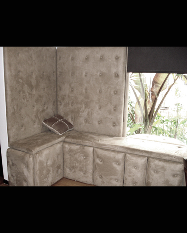 Upholstered Nook