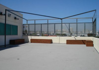 Rooftop Wind Screen