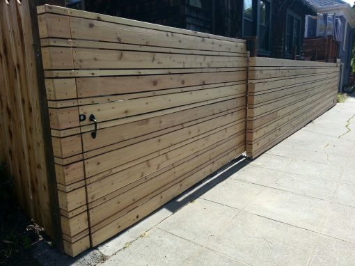 Berkeley Cedar Fence