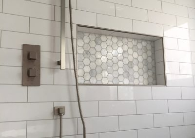 Niche and Handheld Shower