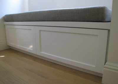 Drawered Window Bench