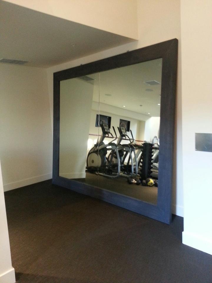 Gym Mirror 12×10