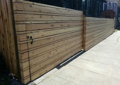 Berkeley Cedar Fence