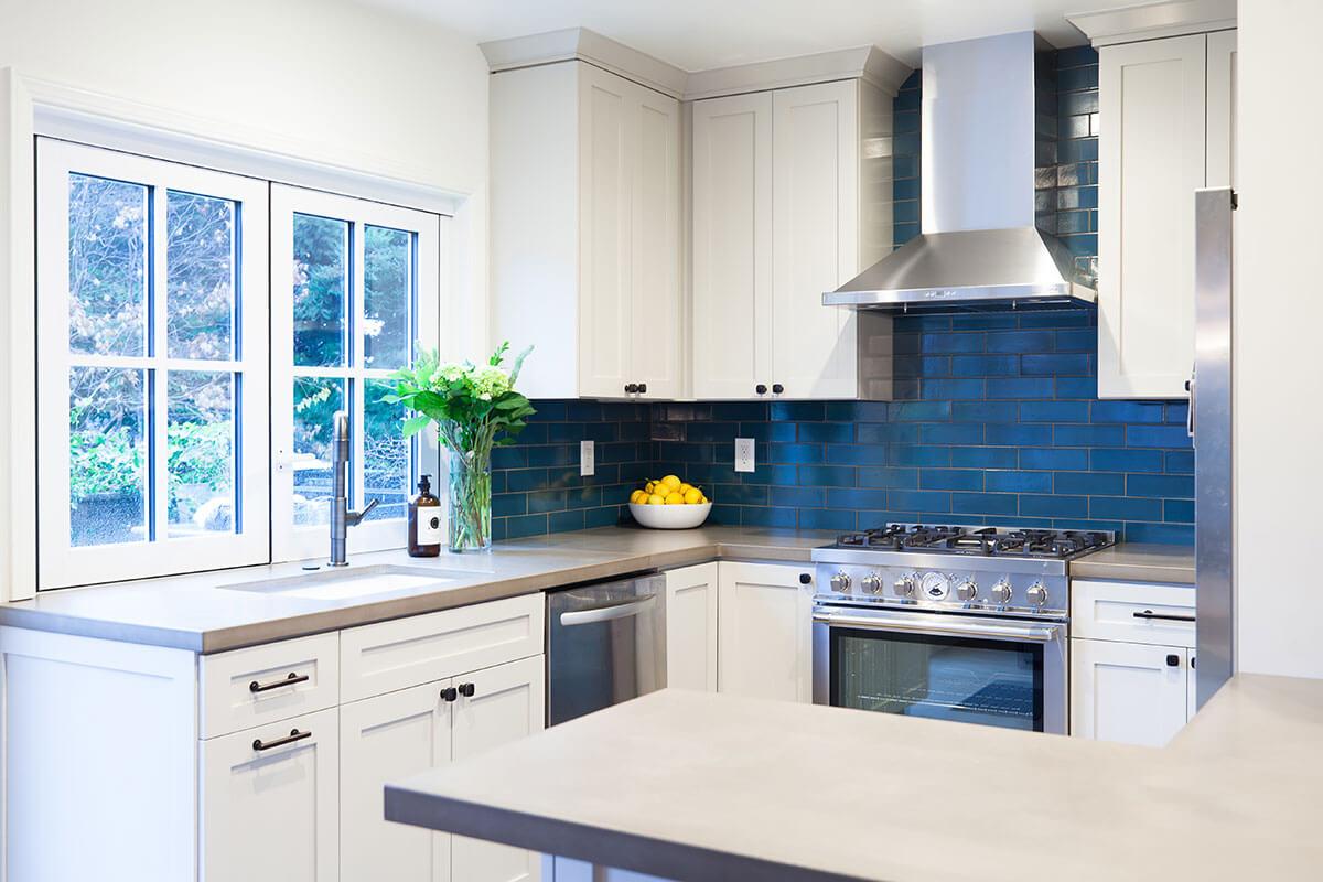 Concrete Counter Kitchen